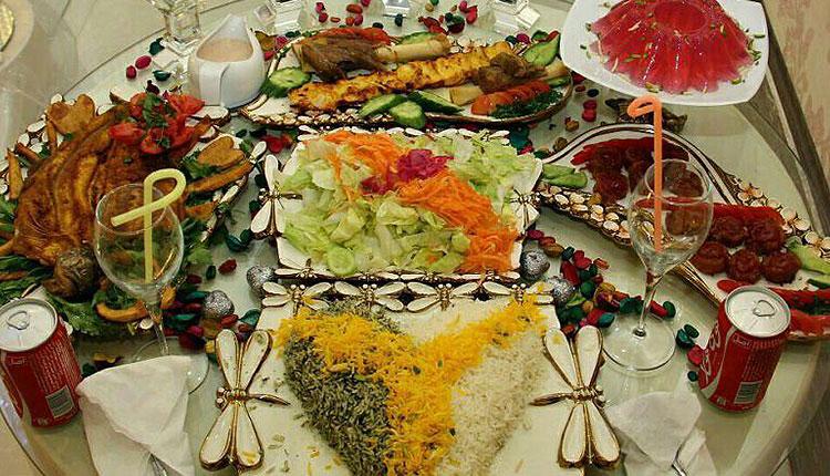 چیدمان سفره عقد - تشریفات عروسی و خدمات مجالس روژین در تهران |